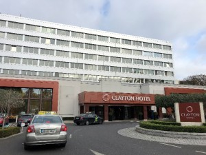 会場となったClayton Hotel Burlington Road